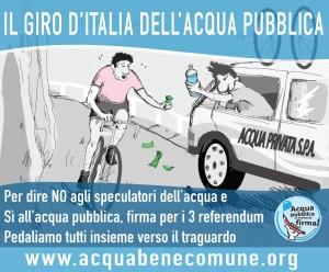 Ciclista paga per bere